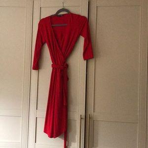 Isabella Oliver pregnancy wrap dress